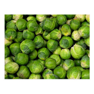 Lots of Brussels Sprouts Postcard