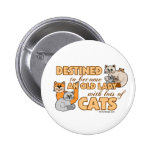 Lots Of Cats Button