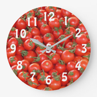 Lots of Cherry Tomatoes Clock