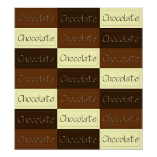 Lots of Chocolate Poster