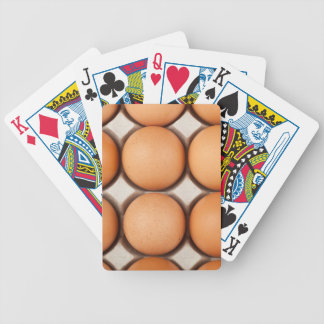 Lots of eggs bicycle playing cards