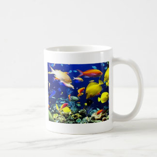 lots of fish coffee mug