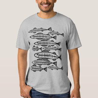 Lots of Fish Tee Shirts