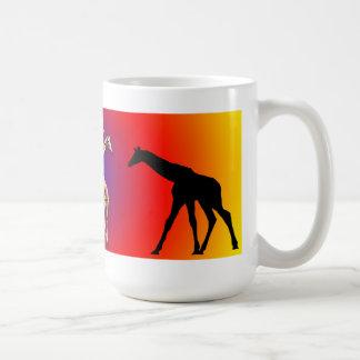LOTS OF GIRAFFES COFFEE MUGS