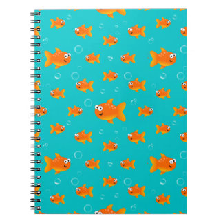 Lots Of Goldfish Note Book