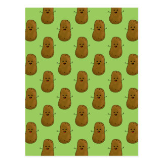 Lots of Happy Potatoes Postcard