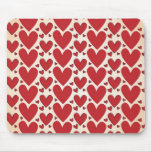 """""""Lots of Hearts"""" Design Mousemats"""