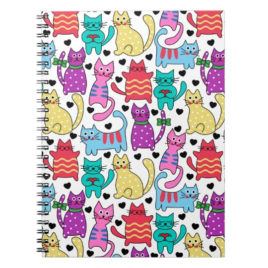 Lots Of Kitty Cats Notebook