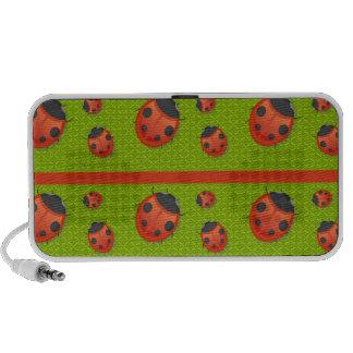 lots of ladybugs IIII Travelling Speaker