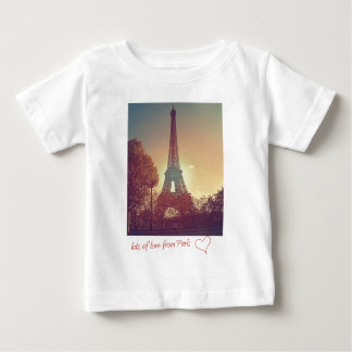 lots of love from Paris Baby T-Shirt