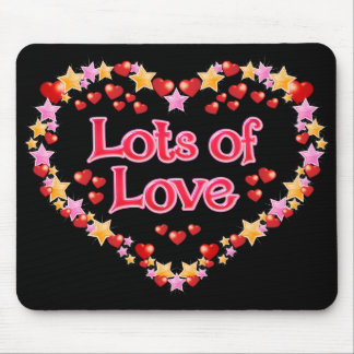 Lots of Love Mouse Pad