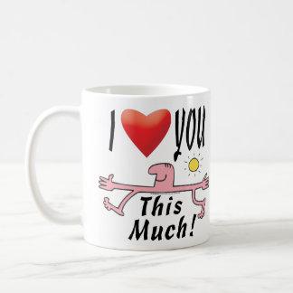 Lots of Loving Basic White Mug