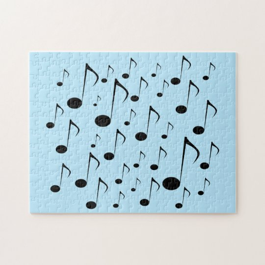 Lots of Musical Notes Jigsaw Puzzle
