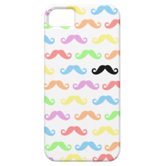 Lots of Mustaches (white) iPhone 5 Covers