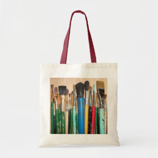 Lots of Paint Brushes Tote Bag