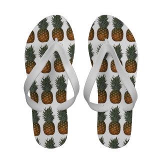 Lots of Pineapples Flip-Flops