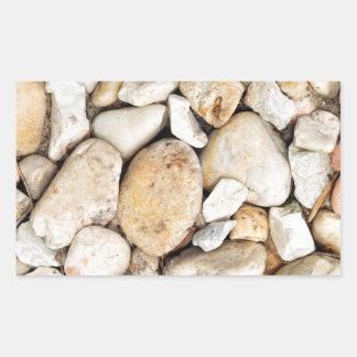 Lots of Rocks Rectangular Sticker