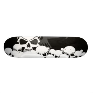 Lots of Skulls Custom Skateboard