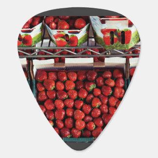 Lots of Strawberries Guitar Pick