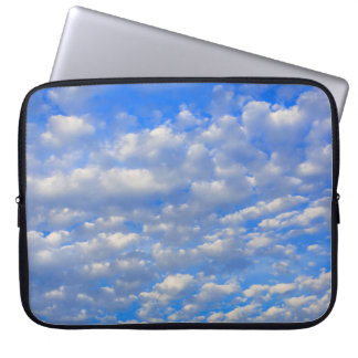 Lots of tiny clouds laptop sleeve