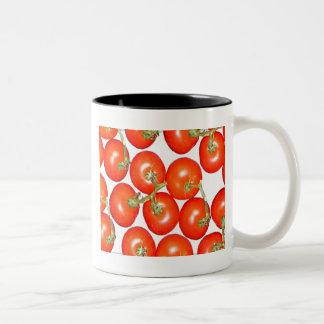 lots of tomatoes Two-Tone mug