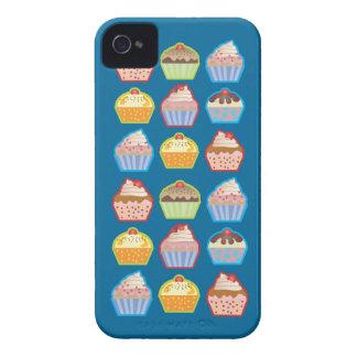 Lotsa Cupcakes Blue BlackBerry Case