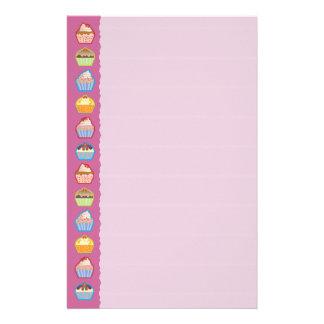 Lotsa Cupcakes Pink Stationery