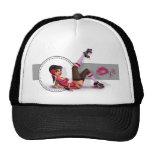 Lotta Payne - Roller Derby Pinup Girl Hats