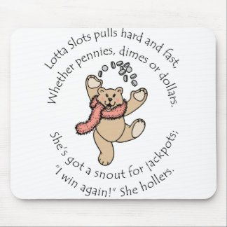 Lotta Slots Lucky Teddy Mouse Mat