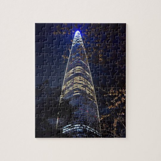 Lotte World Tower in South Korea Puzzle