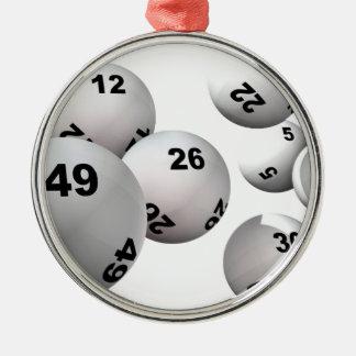 Lottery Balls Christmas Ornament