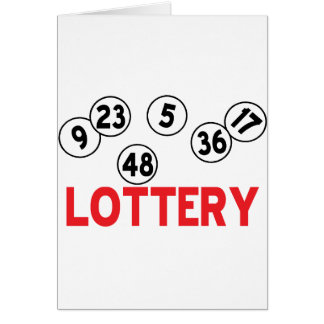 lottery designs card