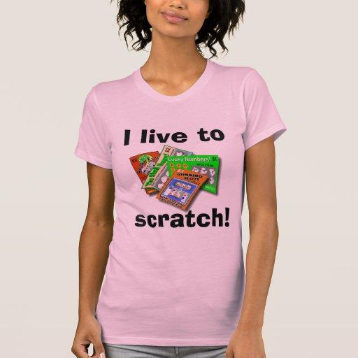 Lottery Scratch-Off light shirt