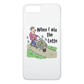 Lottery Winning Design Man with Barrow of Cash iPhone 8 Plus/7 Plus Case
