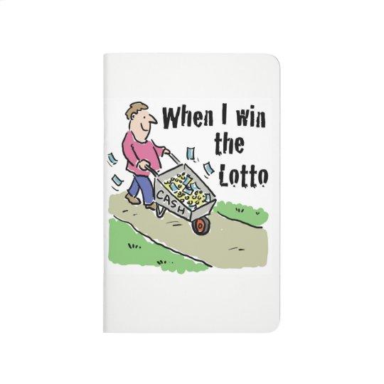 Lottery Winning Design Man with Barrow of Cash