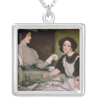 Lottie and the Lady Silver Plated Necklace