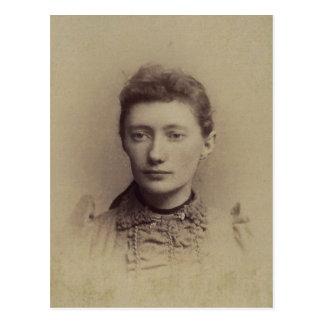 Lottie ZARFOS (b.1870) of York County, PA Postcard