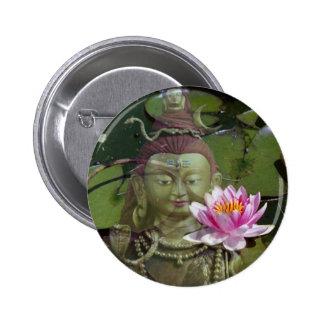 Lotus 1 & Buddha Buttons