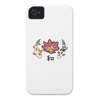 LOTUS APPLIQUE PEACE iPhone 4 CASE