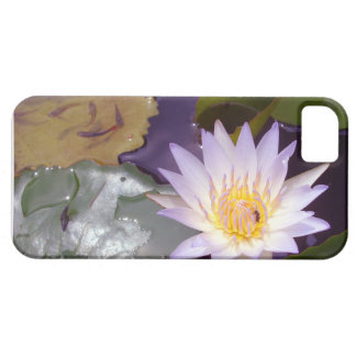 lotus Bee and swimming fishes Barely There iPhone 5 Case