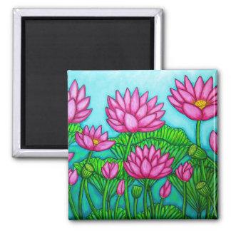 Lotus Bliss II Magnet
