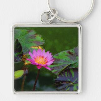 Lotus Bloom Keychain