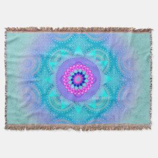 Lotus Bloom Turquoise Mandala