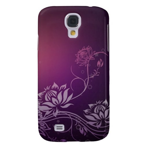 Lotus Blooms - Speck® Fitted™ Hard Shell Case for  Samsung Galaxy S4 Cases