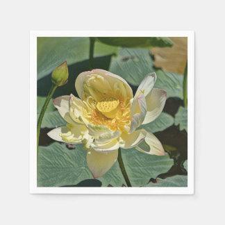 Lotus Blossom Disposable Serviette