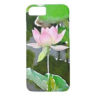 Lotus blossom iPhone 7 case