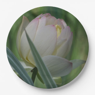 Lotus Blossom Paper Plate