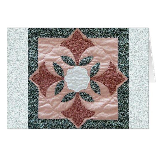 Lotus Blossom Quilt Card