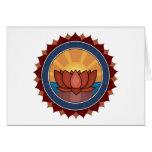 Lotus Blossom Yoga Greeting Cards