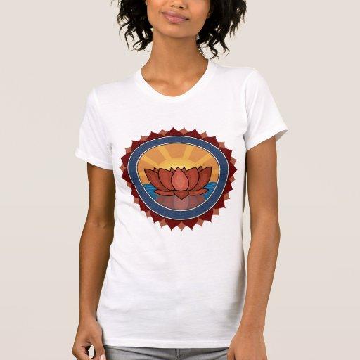 Lotus Blossom Yoga T-Shirt Shirts